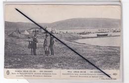 Guerre 14-15-16..En Orient . Baie Salonique Amiral  Guéprate Bras Coinsés. Général Baumann Derrière - War 1914-18