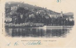 MEINA E DAGNENTE (NOVARA) - LAGO MAGGIORE - VIAGGIATA 1900 - Verbania