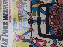 Les Pieds Nickelés Percepteurs PELLOS Société Parisienne D'édition 1973 - Pieds Nickelés, Les