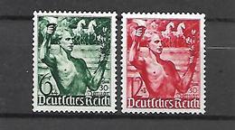 Allemagne III Reich  1938     Cat N°  603, 604      Série Complète   N** MNH - Allemagne