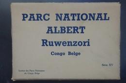 CONGO BELGE - Carnet 9 Cartes Vues - PARC NATIONAL ALBERT - RUWENZORI - Serie XV - 3 Scans. - Belgisch-Kongo - Sonstige