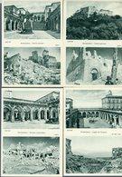 °°° Cartoline - Montecassino Serie Da 10 Pezzi Numerate Da 1 A 10 Com'era - Com'è Nuova °°° - Frosinone
