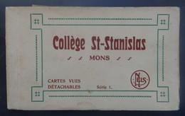 Mons - Collège St.Stanislas - Carnet De 9 Cartes Postales - 11 Scans. - Mons