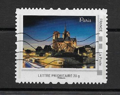 "FRANCE MONTIMBREAMOI Prioritaire 20 G  "" PARIS - NOTRE DAME""   Oblitéré - Sellos Personalizados (MonTimbraMoi)"