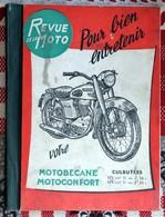 Revue De La Moto   Motobecane Motoconfort Culbutées 125 Cm3 Et 175 Cm3  Bouhin Lille Nord - Vieux Papiers