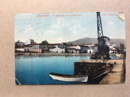 SPAIN - Algeciras - Muelle De Embarque - GB Used Abroad - Vari