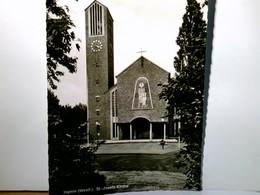 Hamm In Westfalen. St.- Josefs - Kirche. Alte, Seltene AK S/w. Blick Zur Kirche - Ohne Zuordnung
