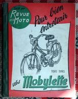 Revue De La Moto  Tout Types  Mobylette Motoconfort  Bouhin Lille - Old Paper