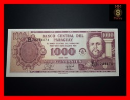 PARAGUAY 1.000 1000 Guaranies 1998  P. 214 A Printer Ciccone  UNC - Paraguay