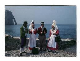 C.P °_ Folklore-76-Etretat-Groupe Normand-La Villotte-1994 - Danses