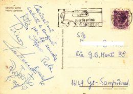 ITALIE - 1968 - Sécurité Routière - Regarde Avant De Doubler - Guarda Prima Di Sorpassare - Unfälle Und Verkehrssicherheit
