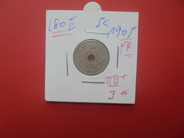 Léopold II. 5 Centimes 1905 FR BELLE QUALITE (A.9) - 03. 5 Céntimos