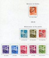 TIMBRES FRANCE REF060520...Timbres FRANCE Préoblitérés 1953/1959 - 1953-1960