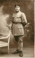 CARTE PHOTO 1922 BOURGES SOLDAT DU 511em REGIMENT DE CHAR DE COMBAT TANKISTE - Regiments