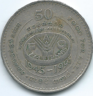 Sri Lanka - 2 Rupees - 1995 - FAO - KM155 - Sri Lanka