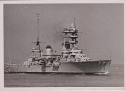 """PH. CINEMATOGRAPHE De La MARINE - Le Croiseur  """"FOCH""""  (13 X 18 Cm.) - Boats"""