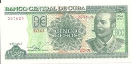 CUBA 5 PESOS 2015 UNC P 116 O - Cuba