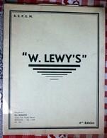Catalogue Pièces Détachées  SEPEM  W. LEWY'S   + Tarifs 1959 Automobiles Motos Velomoteurs Scooters Quilico Bethune - Vieux Papiers