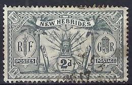 NOUVELLES HEBRIDES:  TP Obl. CAD - Used Stamps