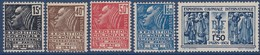 N°__270 à 274 EXPOSITION COLONIALE TIMBRES NEUFS ** 1930 - Nuevos