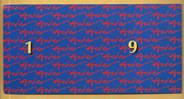 Carte Double USINOR-SACILOR - Meilleurs Voeux Pour 1993 - New Year