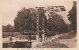 CARTE POSTALE   SAINT AMAND MONTROND 18  Pont Des Fromentaux - Saint-Amand-Montrond