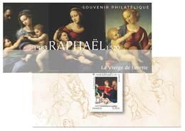 France 2020 - Souvenir Philatélique - Raphaël « La Vierge De Lorette ».(sous Blister) - Souvenir Blocks & Sheetlets