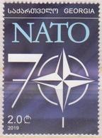 Georgia 2019 2020 Mi# 739 NATO 70 Years * * - Georgia