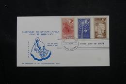 ETHIOPIE - Enveloppe FDC En 1963, Télécommunications - L 60284 - Äthiopien