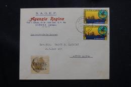 ETHIOPIE - Enveloppe Commerciale En Recommandé De Asmara Pour Addis Abeba En 1963, Affranchissement Plaisant - L 60287 - Äthiopien