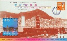 HONG KONG - Stamp Exhibition '97 UHM - Blocks & Sheetlets