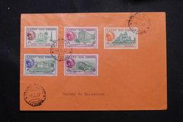 ETHIOPIE - Enveloppe De Asmara , 1er Jour D'émission Série PA En 1957 - L 60288 - Äthiopien