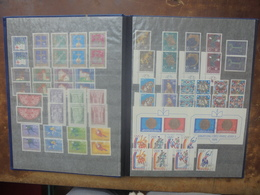 LIECHTENSTEIN ANNEES 70s. NEUFS+OBLITERES  (2691) 750 Grammes. - Collections