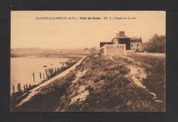 CPSM . 22 . SAINT-JACUT-DE-LA-MER . Hôtel Des Dunes . Façade Sur La Mer . - Saint-Jacut-de-la-Mer
