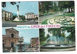 5956 - CAVA DE' TIRRENI CAVA DEI TIRRENI SALERNO 4 VEDUTE 1989 - Cava De' Tirreni