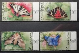 Moldavie 2003 / Yvert N°396-399 / Used - Moldavia