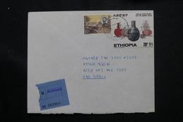 ETHIOPIE - Enveloppe En Recommandé De Asmara En 1973, Affranchissement Plaisant - L 60292 - Äthiopien