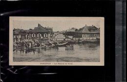 7 X 14 Cm Carte Postale En L Etat Sur Les Photos Astrakhan Les Bateaux De Peche - Russia