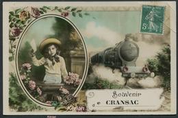 """"""" Souvenir De Cransac """" - N° 4464 Circé - Illustrateur E. Mycho - Voir 2 Scans - Autres Communes"""