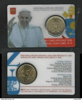 VATICANO 2018 - Moneta 50 Eurocent - Card Ufficiale N.° 9 - Tiratura 60 Mila - Vaticano