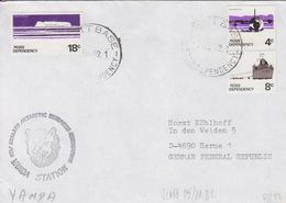 Polaire Néozélandais, N° 10, 12, 14 Obl. Scott-Base Le 5 NO 82 + Cachet Vanda Station - Dépendance De Ross (Nouvelle Zélande)