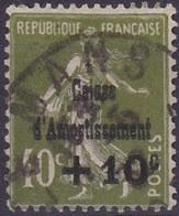 N°__275 CAISSE D'AMORTISSEMENT TIMBRE OBLITÉRÉ 1931 - Usados