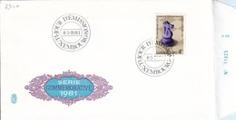 L-Luxembourg 1981 - FDC Schach M1033 (7.514) - FDC