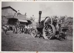 Matériel Agricole, Tracteur, Moissonneuse Batteuse, Battage, Ransomes Angleterre, 17X12cm - Métiers