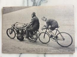 Les Sports.Nos Stayers Et Leurs Entraîneurs Quessard Entraîné Par Amérigo. - Cycling