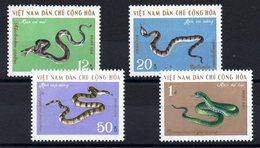 VIET-NAM NORD - YT N° 693 à 696 - Neufs ** - MNH - Cote: 9,50 € - Viêt-Nam