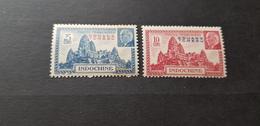 Kouang Tcheou Yvert 138-139** - Kouang-Tchéou (1906-1945)