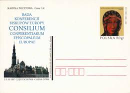 POLOGNE - 1997 - Entier Postal - Conférence épiscopale Européenne - Stamped Stationery