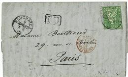 "1862, 40 Rp. Brief "" Neuchatel "" (Fr. 220.-),  A3722 - Lettres & Documents"