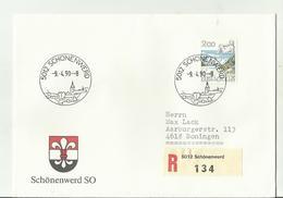 CH R-CV 1990 5012 - Poststempel
